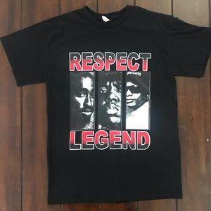 2pac Tupac biggie EazyE hip hop legends T-Shirt